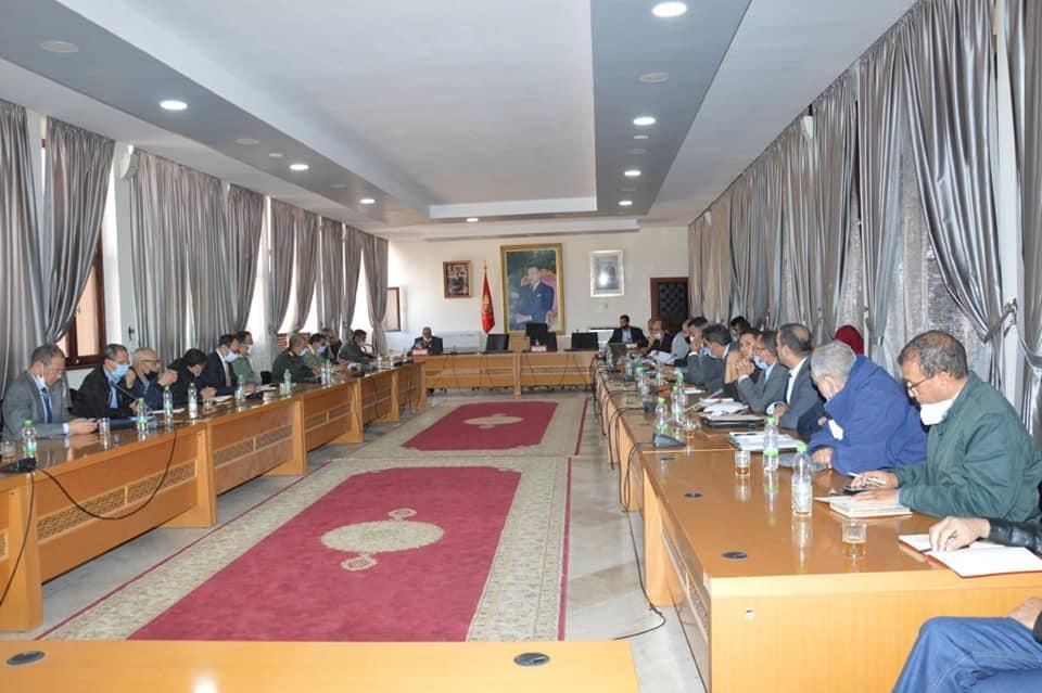 شارك السيد نائب رئيس الجماعة عبد الله القسطلاني في الاجتماع الاقليمي حول تحيين خريطة التكوين المهني