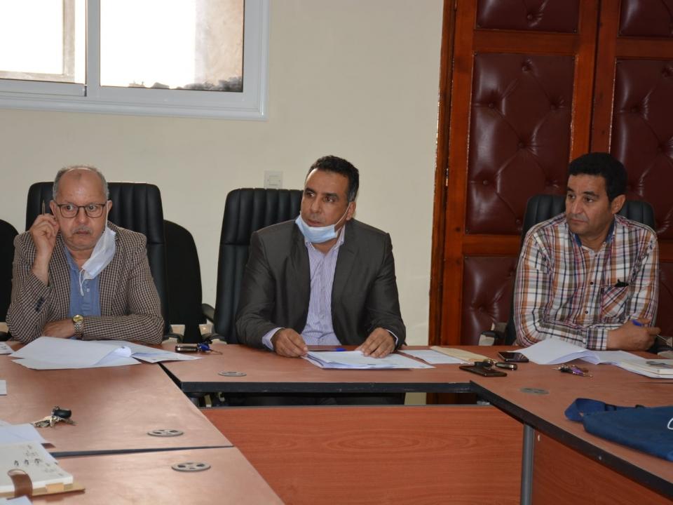 عقدت لجنة الشؤون الثقافية والرياضية والتربية والشباب برئاسة السيد ابراهيم ادلقاضي