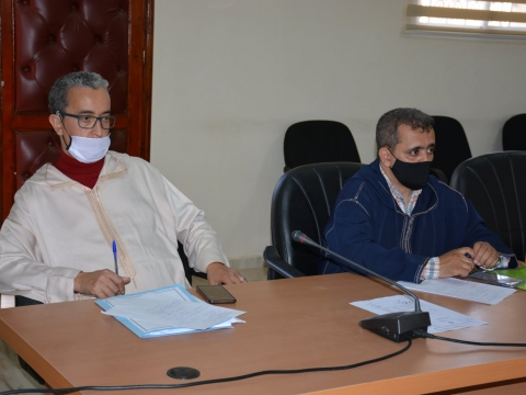 تقرير اجتماع اللجنة المحلية للتكوين المهني حول إعداد خريطة التكوين المهني بالإقليم