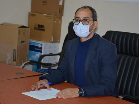 ترأس نائب رئيس الجماعة عبد الله القسطلاني المكلف بالتعمير والبناء والممتلكات