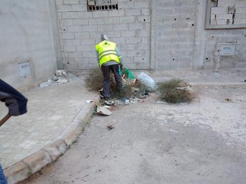 حملة نظافة شملت كافة مرافق المجزرة الجماعية