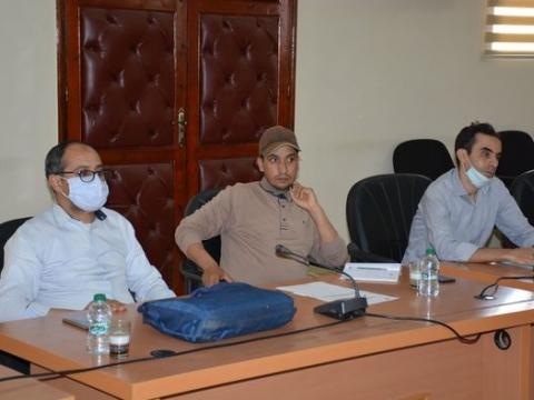 ترأس عبد الله القسطلاني نائب رئيس جماعة تيزنيت اجتماع