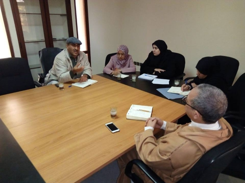 ترأس بمقر الجماعة نائب رئيس الجماعة عبد الله القصطلني المكلف بالتعمير والبناء والممتلكات