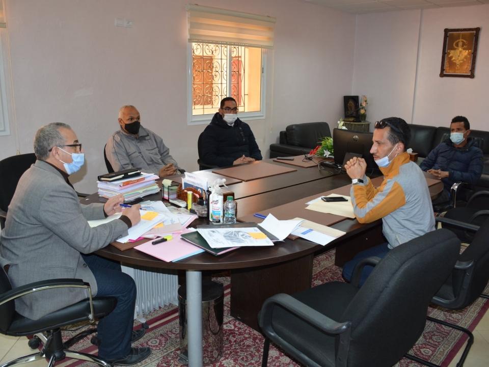 السيد الرئيس يستقبل أعضاء جمعية أوزي للأعمال الإجتماعية و الأشخاص بدون مأوى