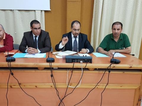 أشغال الإجتماع الثاني لتجديد ثلث أعضاء ممثلي جمعيات المجتمع المدني بحظيرة اللجنة المحلية للتنمية البشرية