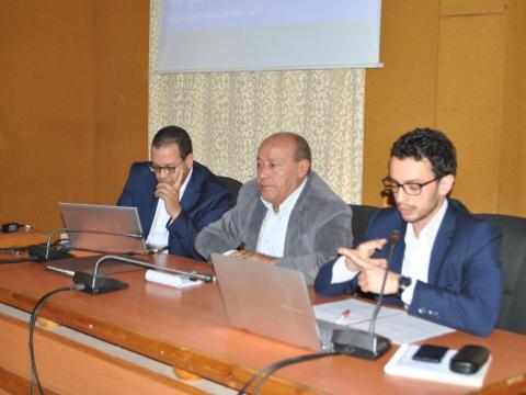 اجتماع تقديم مشروع مباراة أفكار الشباب و المراحل المتقدمة منه للفاعلين المدنيين و هيئات المجتمع المدني المحلية