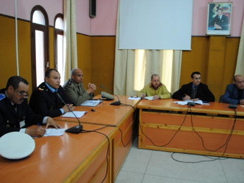18 فبراير، موضوع اجتماع بقاعة الإجتماعات ببلدية تيزنيت