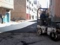 استمرار عملية إعادة هيكلة أزقة و شوارع المدينة