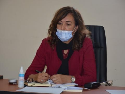 عقدت لجنة التنمية البشرية والشؤون الاجتماعية برئاسة السيدة النزهة اباكريم