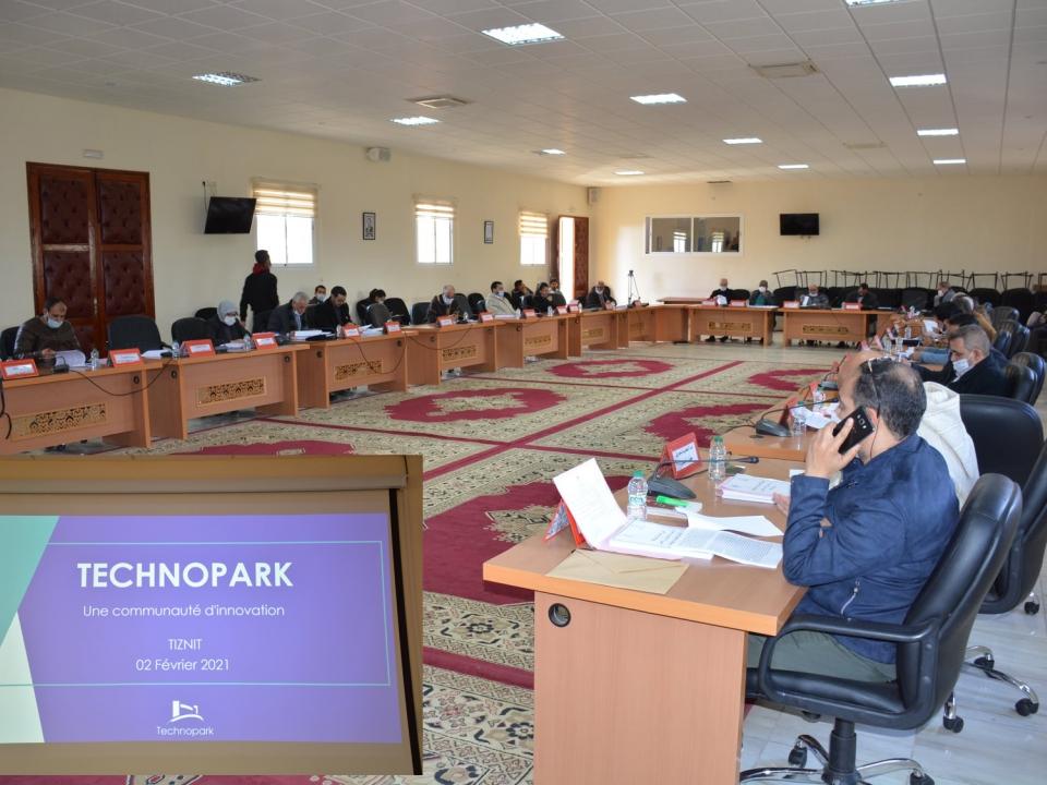 المجلس الجماعي يصادق بالإجماع على إحداث مركز إيواء المقاولات Technopark