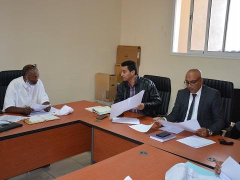 عقدت لجنة الميزانية و الشؤون المالية والبرمجة برئاسة السيد محمد اقلي رئيس اللجنة