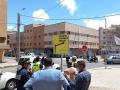 قامت لجنة السير والجولان المحلية، وبحضور ممثل الشركة المسؤولة عن أشغال تهيئة المدارة الرئيسية بالمدينة