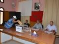 تستمر في هذه الأثناء عملية التصويت لانتخاب ممثلي الموظفين في حظيرة  اللجان الثنائية المتساوية الأعضاء بجماعة تيزنيت وذلك في ظروف تنظيمية جيدة