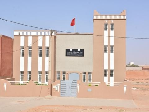 بناء المركز السوسيو ثقافي تمدغوست